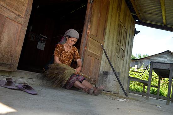 Đến Pêtapoóc du khách sẽ được trải nghiệm đời sống hoang sơ của đồng bào Giẻ Triêng.