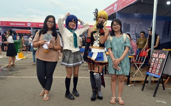 Hóa trang thành các nhân vật truyên tranh Nhật Bản