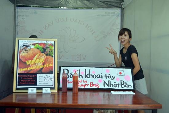 Giới thiệu món ăn  Nhật Bản tại lễ hội