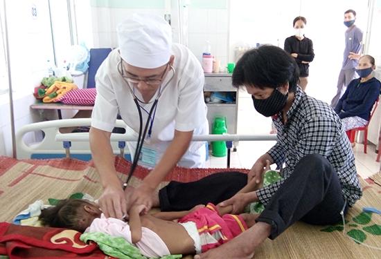Quản lý lao trẻ em là một trong nhiệm vụ được BV Phạm Ngọc Thạch quan tâm. Ảnh: C.N