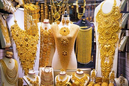 Chợ vàng Gold Souk, điểm đến hấp dãn của nhiều du khách