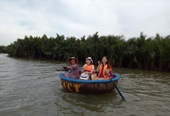 Rừng dừa nước Cẩm Thanh đã bình yên trở lại