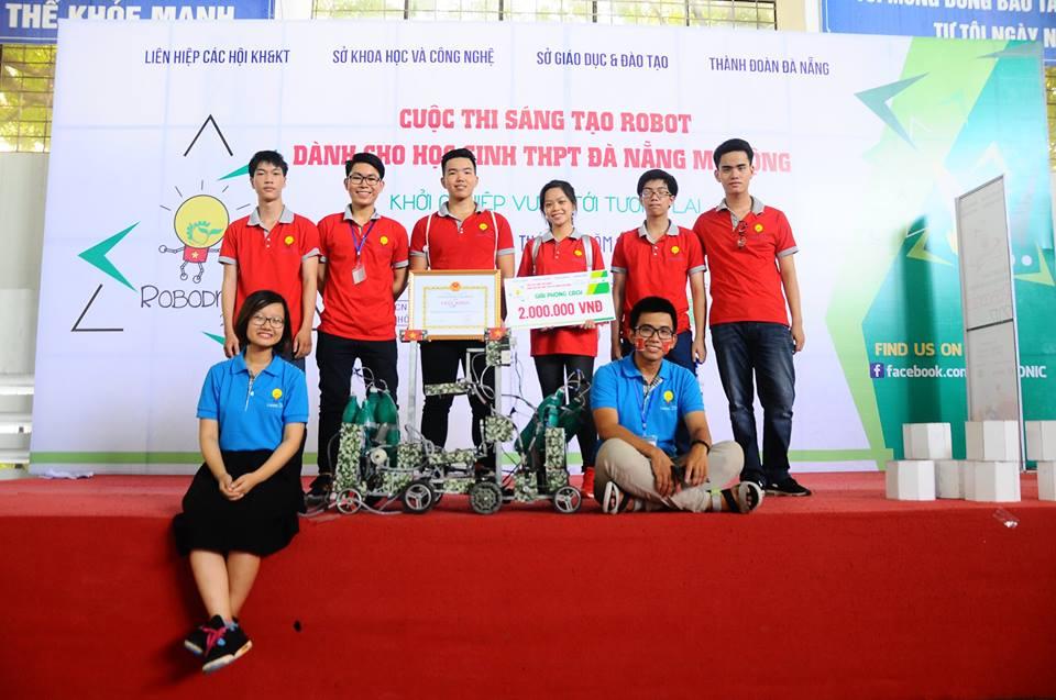 Đội chơi QN-CKT đến từ Quảng Nam giành được giải khuyến khích của cuộc thi, Ảnh: CTV