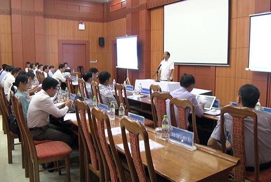 Đại biểu tham dự hội nghị tập huấn. Ảnh: MINH LIÊM