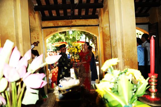Dân làng dân lễ tổ nghề