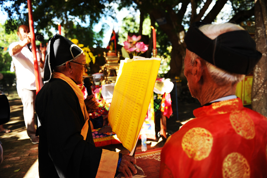 Tế lễ, nghi thức chính của giỗ tổ.