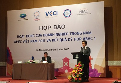 Press conference on the APEC Vietnam Year 2017 (http://vccinews.com)