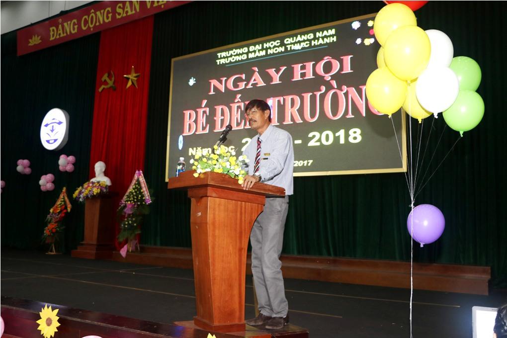 Trần Văn Tuấn - Phó Hiệu trưởng Trường Đại học Quảng Nam