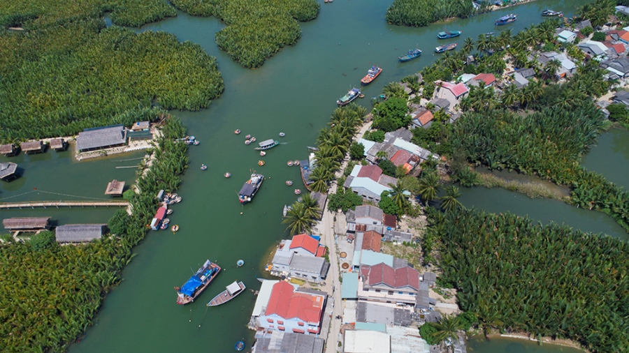 Hoi An city: urban development associated with nature