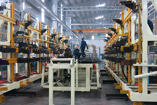 Industrial production at the Chu Lai OEZ