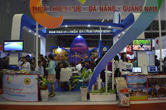 Common booth of 3 localities of Quang Nam-Da Nang-Thua Thien Hue at the ITE HCMC 2017