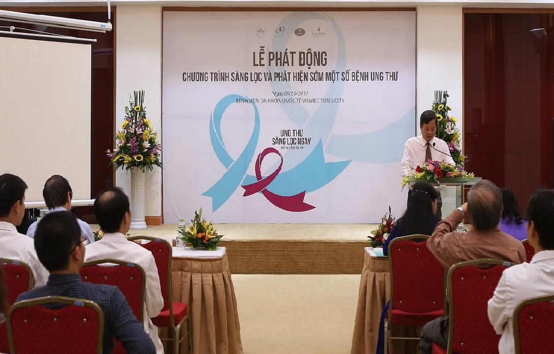 Chương trình Sàng lọc và phát hiện sớm một số bệnh ung thư là sự hỗ trợ thiết thực để đông đảo người dân Việt Nam được tiếp cận dịch vụ y tế chất lượng cao với chi phí ưu việt nhất
