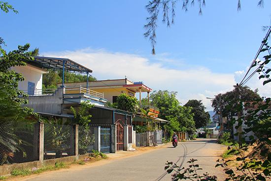 Một góc làng Tịch Tây.  Ảnh: ĐĂNG QUÂN