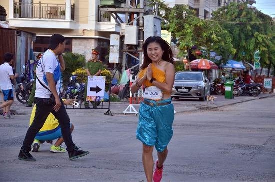 Cuộc thi có sự tham gia của nhiều VĐV đến từ Thái Lan