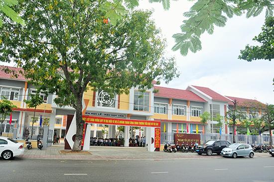 Trường Tiểu học Võ Thị Sáu được đầu tư lớn nhất Tam Kỳ với gần 60 tỷ đồng. Ảnh: X.PHÚ