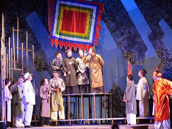 những vở diễn của Đoàn Ca kịch Quảng Nam luôn có sức hút với khán giả.