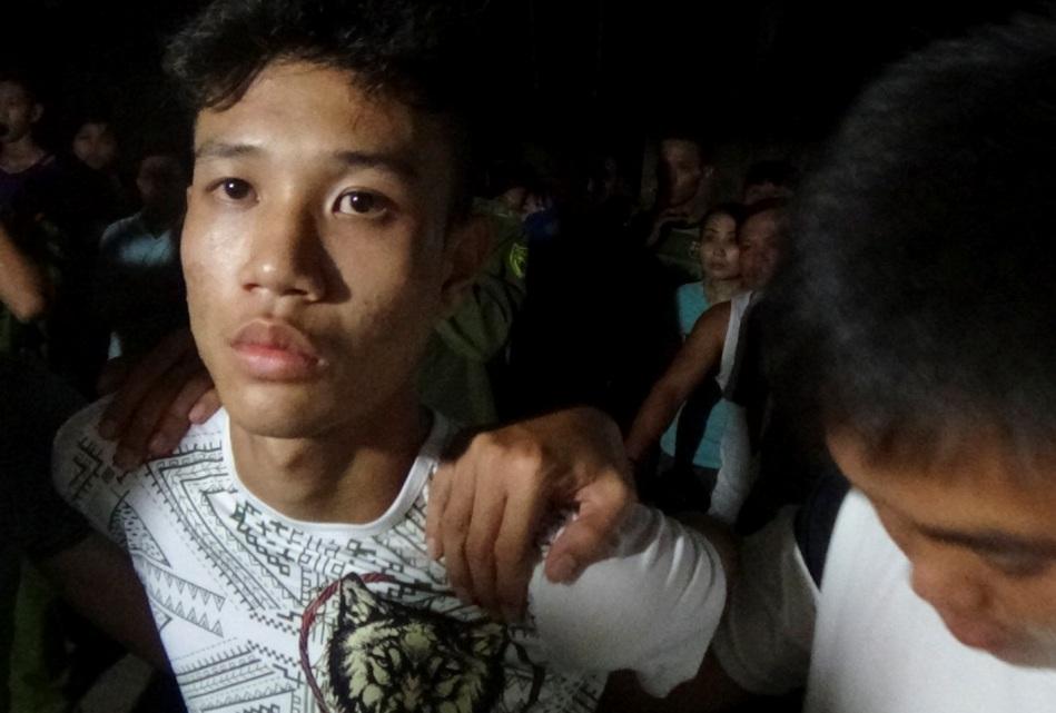 CAX Điện Thắng Trung đã tham gia bắt đối tượng Trần Văn Tâm.