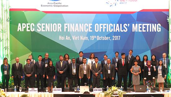 Các đại biểu tham dự Hội nghị quan chức tài chính cao cấp APEC. Ảnh: T.D