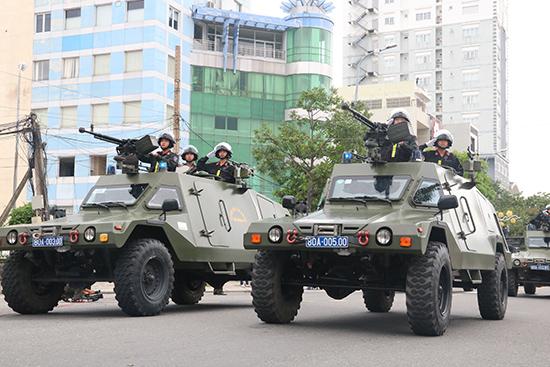 Các phương tiện, khí tài hiện đại được huy động để bảo vệ Tuần lễ Cấp cao APEC