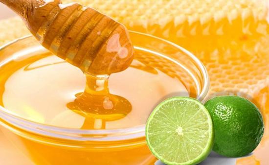 Mật ong và chanh tác dụng giảm ho, long đờm
