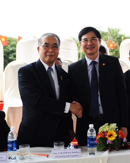 Lãnh đạo 2 tỉnh Quảng Nam và Nagasaki khẳng định tiếp tục phát huy và gìn giữ mối quan hệ, giao lưu bềnh chặt..