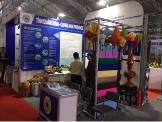 Quang Nam exhibition booth