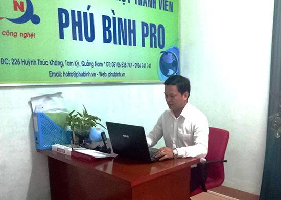 Anh Nguyễn Phú Bình. (Ảnh: nhân vật cung cấp)