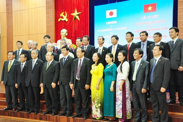 Quang Nam and Nagasaki provinces' delegates