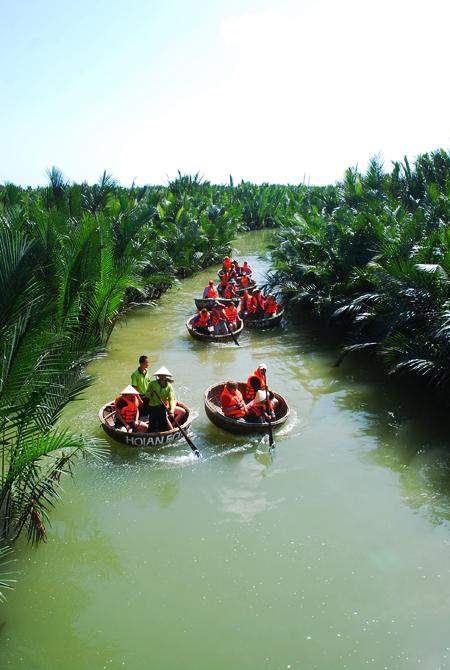 Hoạt động tham quan rừng dừa sẽ được đưa vào quản lý quy củ.