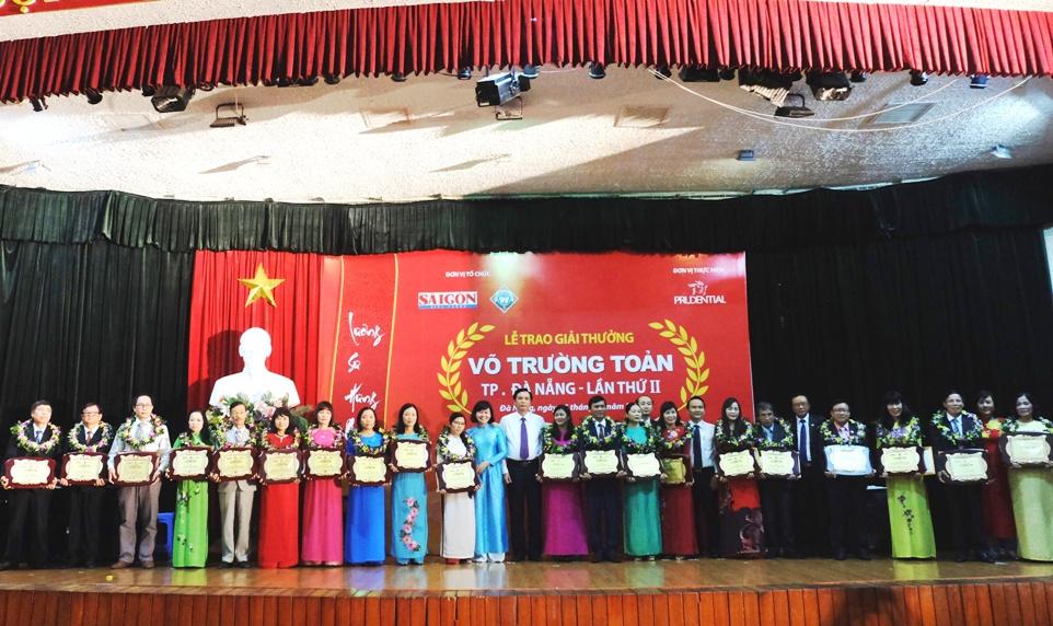 Lần thứ II giải thưởng Võ Trường Toản được tổ chức ở Đà Nẵng