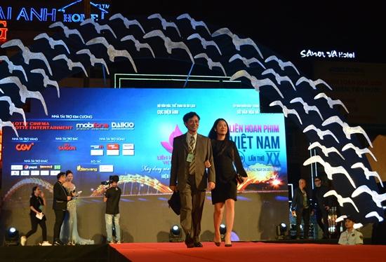 Liên hoan có sự góp mặt của nhiều nghệ sỹ có tên tuổi trong làng điện ảnh Việt Nam