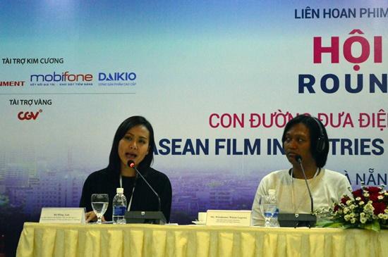 Bà Hồng Ánh chia sẻ kinh nghiệm đưa phim