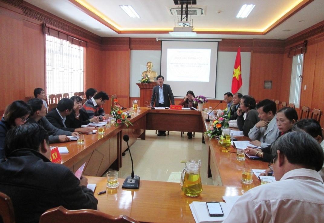 Quang cảnh hội thảo diễn ra chiều qua 27.11.