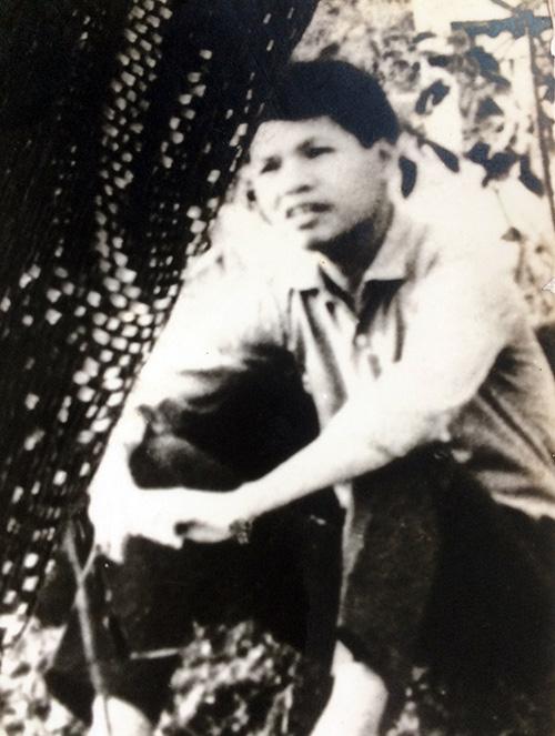 Xã đội phó Nguyễn Quang Vinh trước ngày hy sinh.  Ảnh gia đình cung cấp.