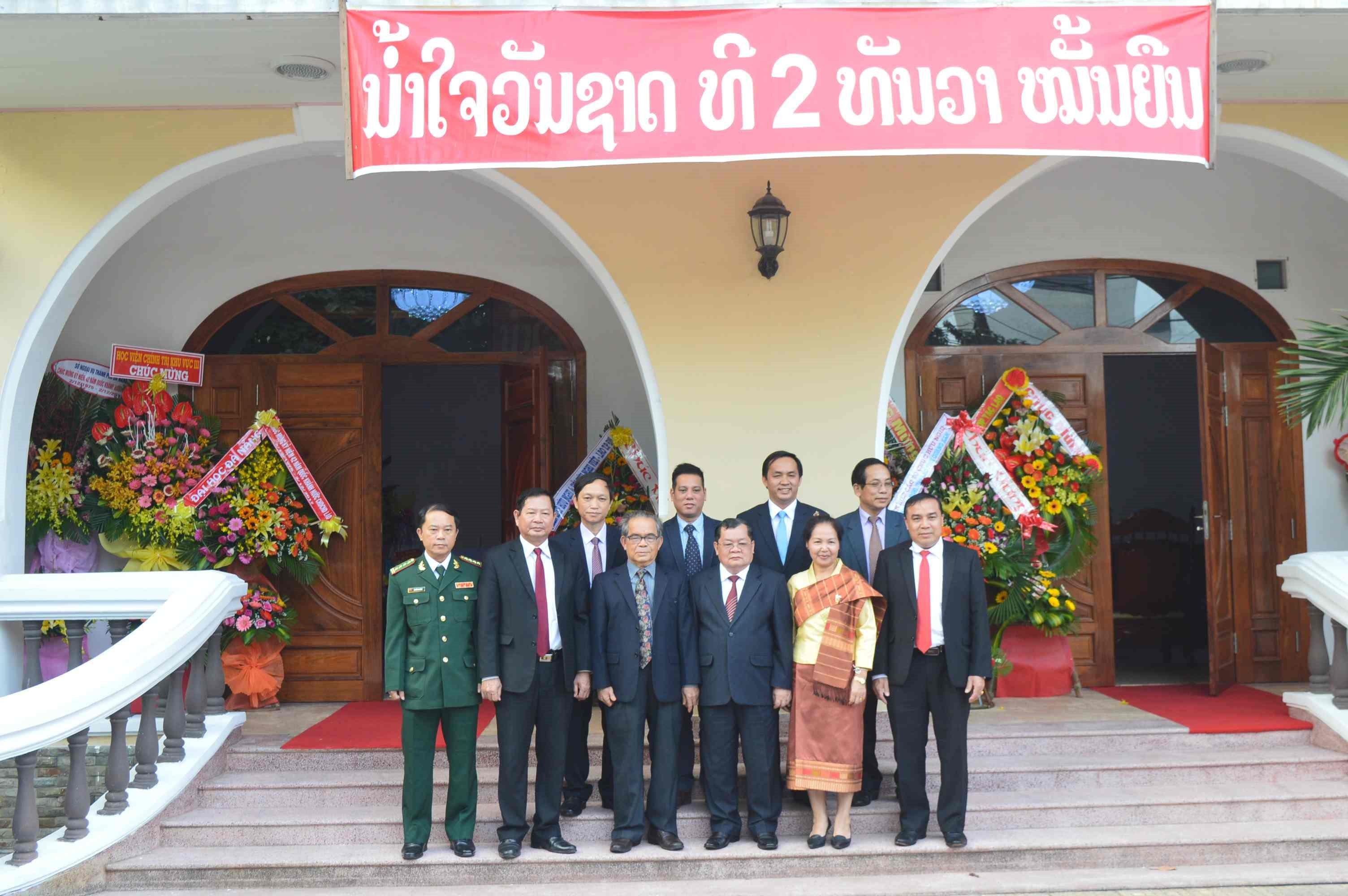 At Lao Embassy in Da Nang city
