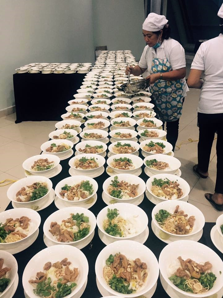 Giao Thuy Quang noodle ready for APEC 2017 gala dinner