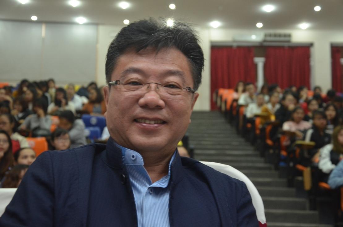 TS Kurtis Koli Chang, Phó Hiệut rưởng ĐH Fooyin –Đài Loan