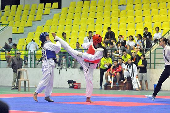 Giải Taekwondo năm 2017 được đánh giá có chất lượng chuyên môn cao.Ảnh: ANH SẮC