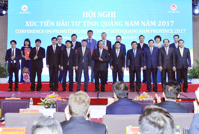 The conference on promoting investment into Quang Nam province 2017