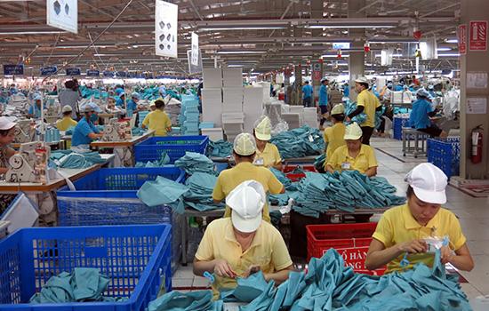 Garment and textile Panko company at Tam Thang IP