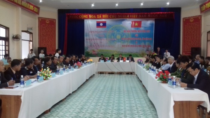 Scene of the conference (namgiangrt.vn)