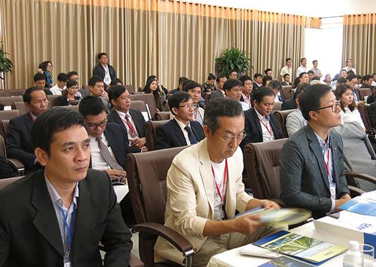 Doanh nghiệp Hàn Quốc đến Quảng Nam tìm hiểu cơ hội đầu tư. Ảnh: T.D