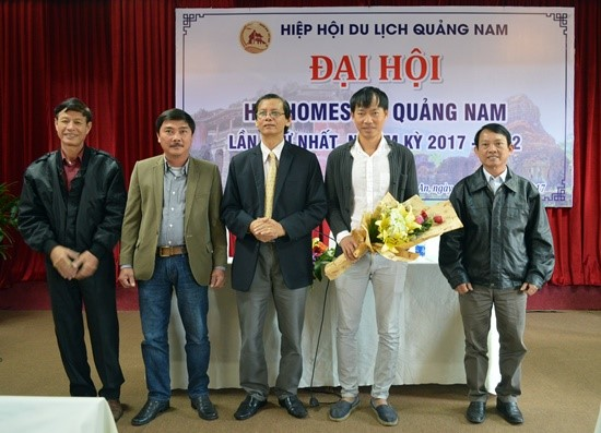 Quang Nam Homestay Association executive board for the 2017-2022 term.