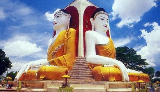 Tượng Phật 4 mắt tại Myanmar