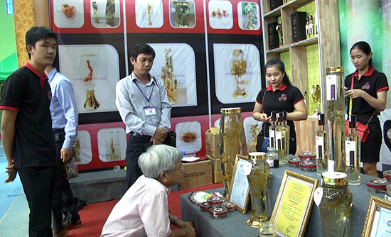 Products from Ngoc Linh ginseng