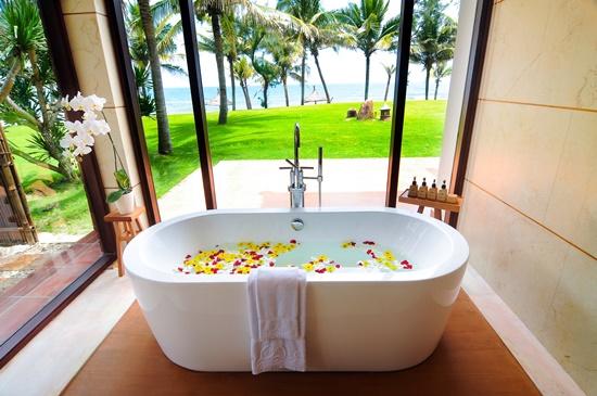 Một khu cảnh bình yên và lãng mạn của Paml Garden Resort