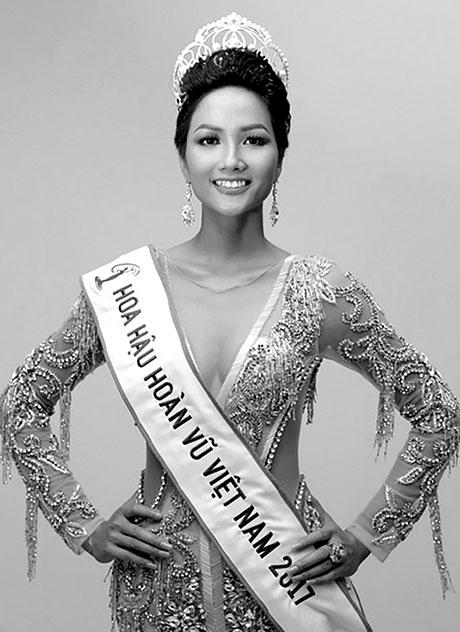 Hoa hậu Hoàn vũ Việt Nam H'Hen Niê. Ảnh: Internet