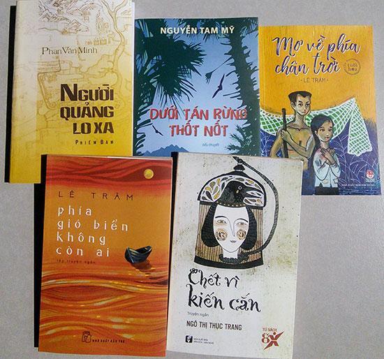 Một số tập sách của các tác giả Quảng Nam được các đơn vị xuất bản mua bản quyền để in và phát hành.