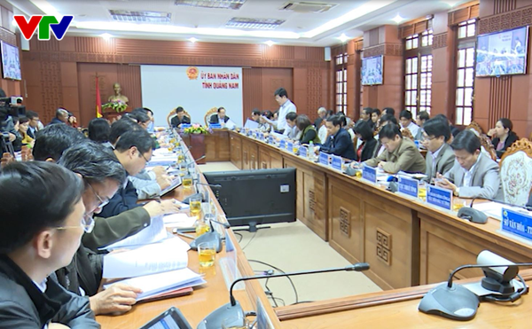 The scene of the conference (vtv.vn)