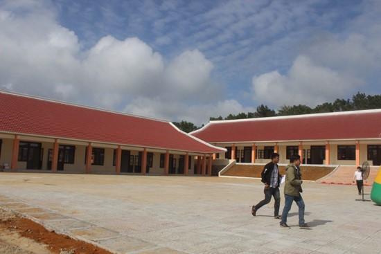 A corner of the vocational training school